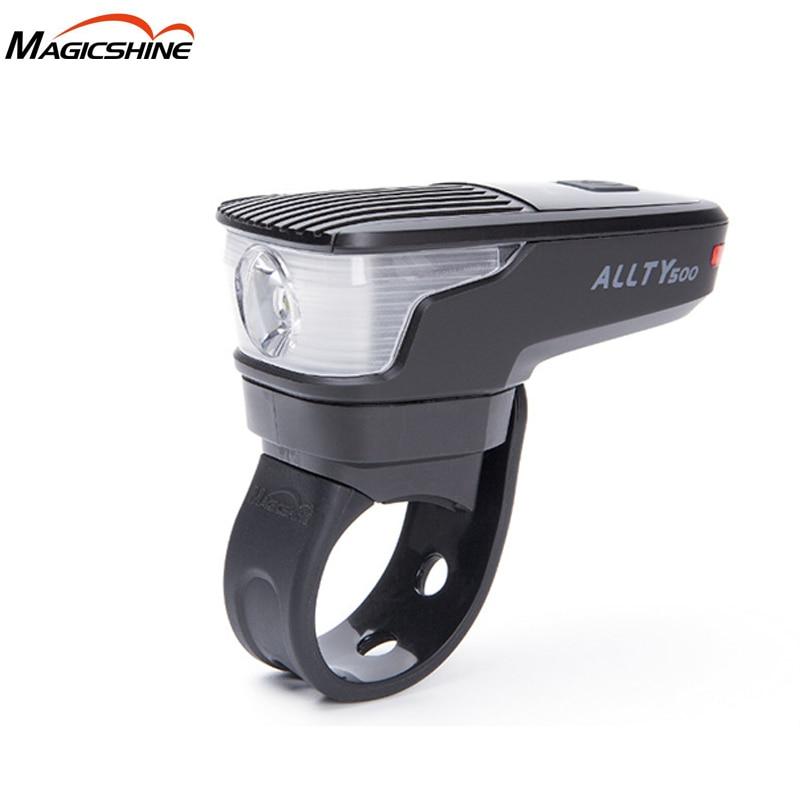 Magicshine ALLTY 500 Micro-USB carga bicicleta luz XP-L LED max 500 lúmenes mini bikelight bicicleta luz delantera batería incorporada