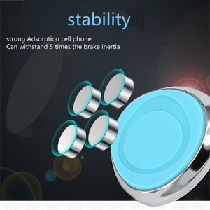 Car styling 360 Degree GPS Magnetic Mobile Phone Holder for saab key 9-3 9-5 emblem 93 evening dress 95 900 9000 accessories