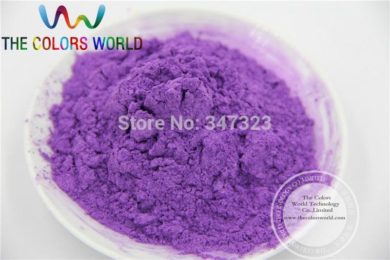 TCZG422 magia Color púrpura pigmento perla lustre diseño de uñas pintura frontal maquillaje Manual decoración DIY