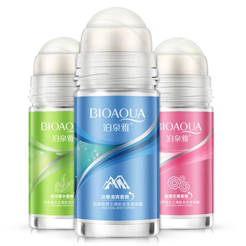 100% Original Bola Loção Para O Corpo Loção Antitranspirantes Axilas Desodorante Roll On Suave Homens E Mulheres Seca