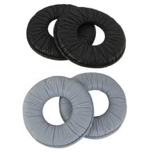 1Pair For Sony MDR-V150 V250 V300 V100 Headphones Protein Leather Replacement Ear Ear Pad Earpads Sponge Soft Foam Cushion 70MM