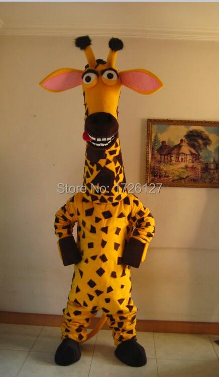 Girafe mascotte melman costume personnalisé fantaisie anime cosplay kit mascotte thème déguisement carnaval costume