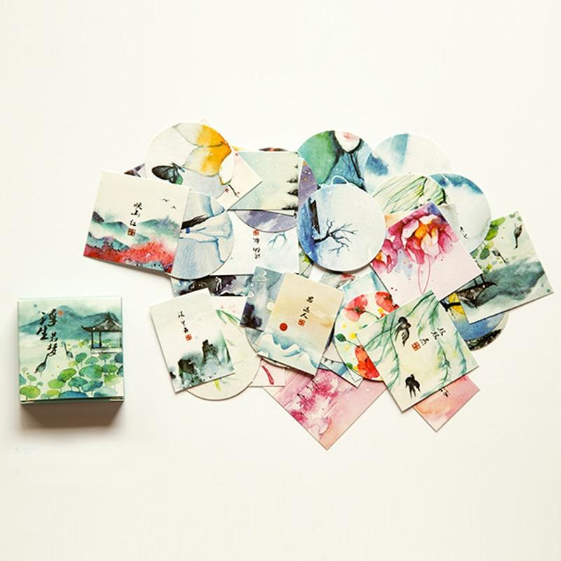 Bonitos dibujos de cumpleaños, Bloc de notas, pegatinas adhesivas Kawaii, planificador de recortes, adhesivo de papelería Escolar, suministros escolares