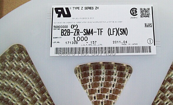 B2B-ZR-SM4-TF CONN HEADER ZH TOP 2POS 1.5MM Connectors terminals housings 100% new and Original parts B2B-ZR-SM4-TF(LF)(SN)