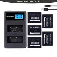5X NP W126 NP-W126S Camera Battery + LCD Charger for Fujifilm Fuji X-Pro1 2X-T1 2 3 10 20 100HS50 33 30EXRXM1 X100F XH1XA5 3