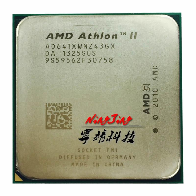 AMD Athlon II X4 641 2.8GHz Quad-core CPU Processor AD641XWNZ43GX Socket FM1