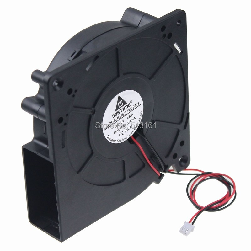 Gdstime DC 5V Ball Bearing 120mm 120x120x32mm 12032 Exhaust Cooling Blower Fan