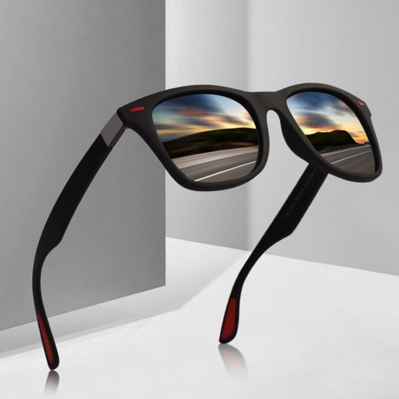 BOYSEEN Marca Diseño clásico gafas De Sol polarizadas De las mujeres De los hombres conducción marco cuadrado gafas De Sol De gafas para hombres UV400, gafas De Sol