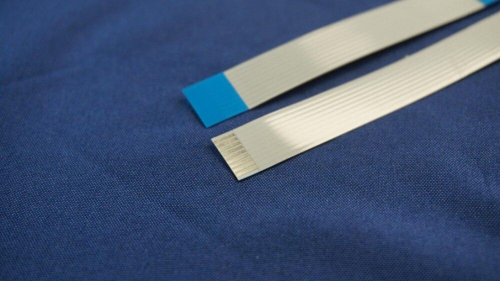 100 unids/lote cable plano Flexible FFC 10 PIN 0,5mm paso cinta plano...