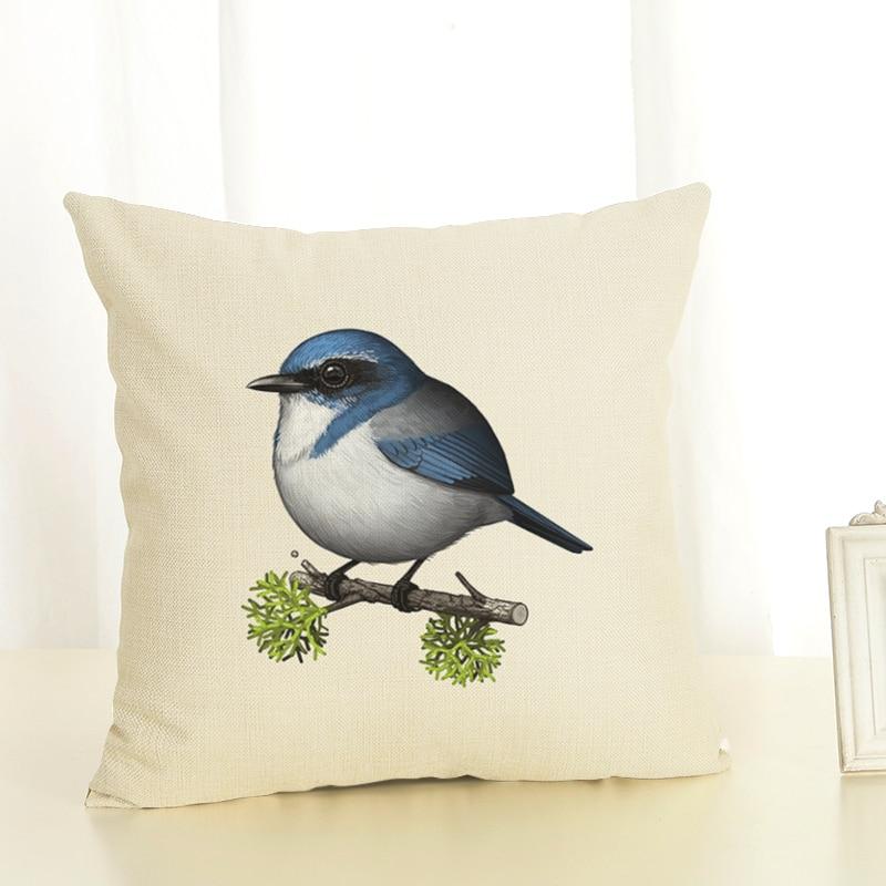 New fat bird sofa sets of protective pad linen pillow hood