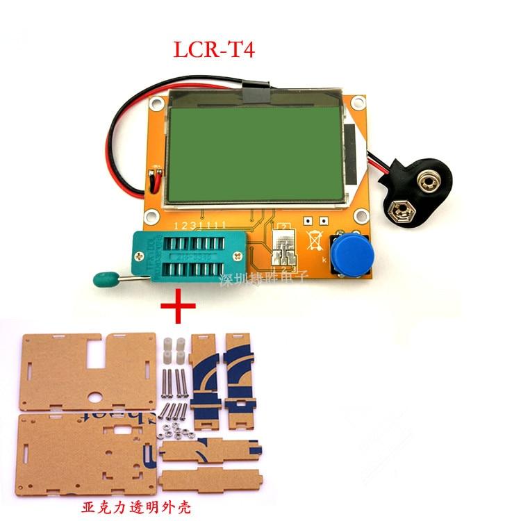 MOS transistor tester LCR-T4 modelado indutor e capacitor ESR medidor