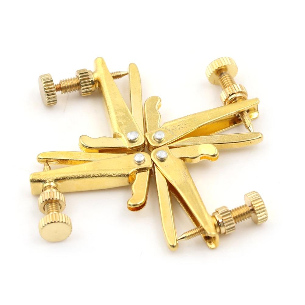 4pcs נחושת ניקל סגסוגת זהב מצופה כינור מחרוזת טיונר בסדר טיונר שמאי חלקי Fit 3 4 4 4 כינור חלקים ואביזרים לכינור Aliexpress