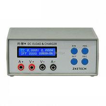 EBC-A05 + testeur de capacité de batterie 5V12V24V Portable Performance de puissance Test de Charge électronique 0-10 V Charge 3A et 0-30 V décharge 5A