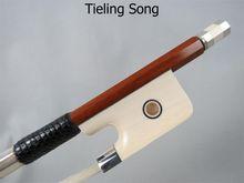 Strong,balance Professional master Pernambuco cello bow 4/4 silver mounted #8090