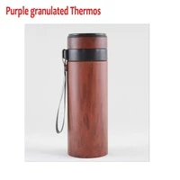 ecological health violet arenaceous granulated mugs vacuum cup purple clay thermos purple sands cuppurple granulated mugs