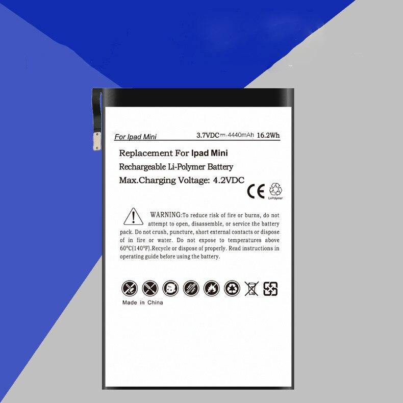 ISUN 2pcs/lot A1445 battery for ipad mini 1 for iPad mini1 li-ion polymer battery repair replacement build-in battery