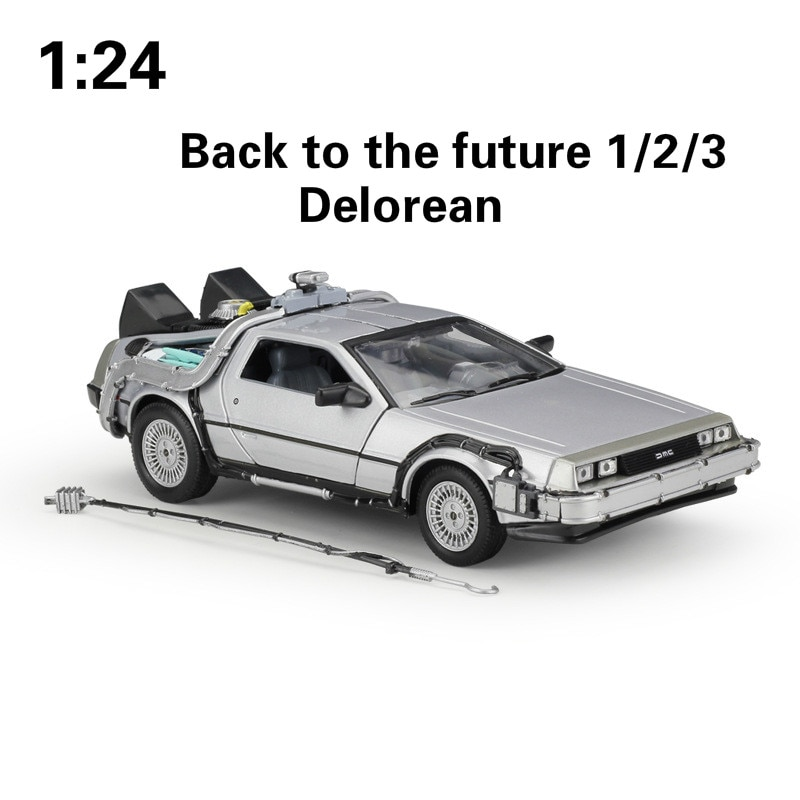 1 24 diecast model for naveco iveco nj2046 army truck green alloy toy car miniature collection gifts van WELLY 1:24 Alloy Classic Diecast Car delorean Back to The Future part 1/2/3 DMC-12 Metal Model Toy Car For Kids Gifts Collection