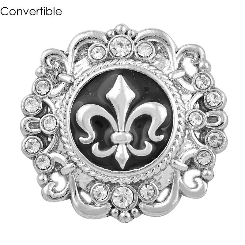 3pcs Rivca convertible Elegant crown magnet brooch For women antique Headscarf Cloth Clip Vintage Muslim pin accessory Brooch