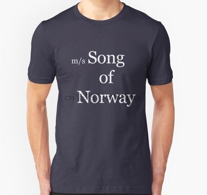 Camiseta de manga corta para hombre, camiseta Unisex Bowie Song of Norway, camiseta para mujer