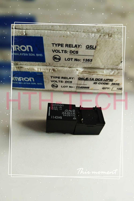G5LE-1A-5VDC G5LE-1A-CF-36-24VDC Power Relay 10A 250VAC 4 Pinos
