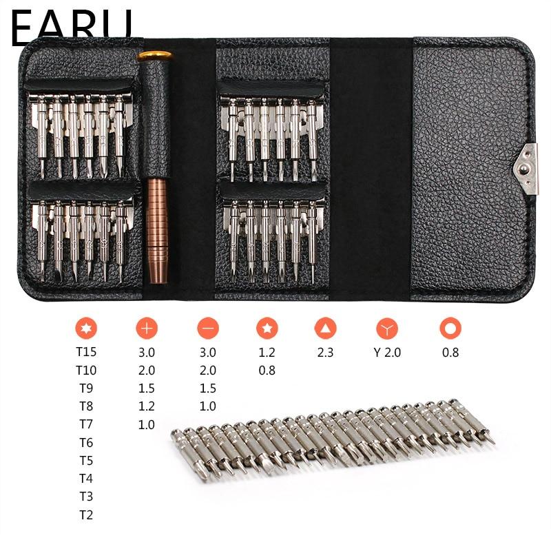 Screwdriver Set 25 in 1 Torx Multifunctional Opening Repair Tool Set Precision Screwdriver For Phone