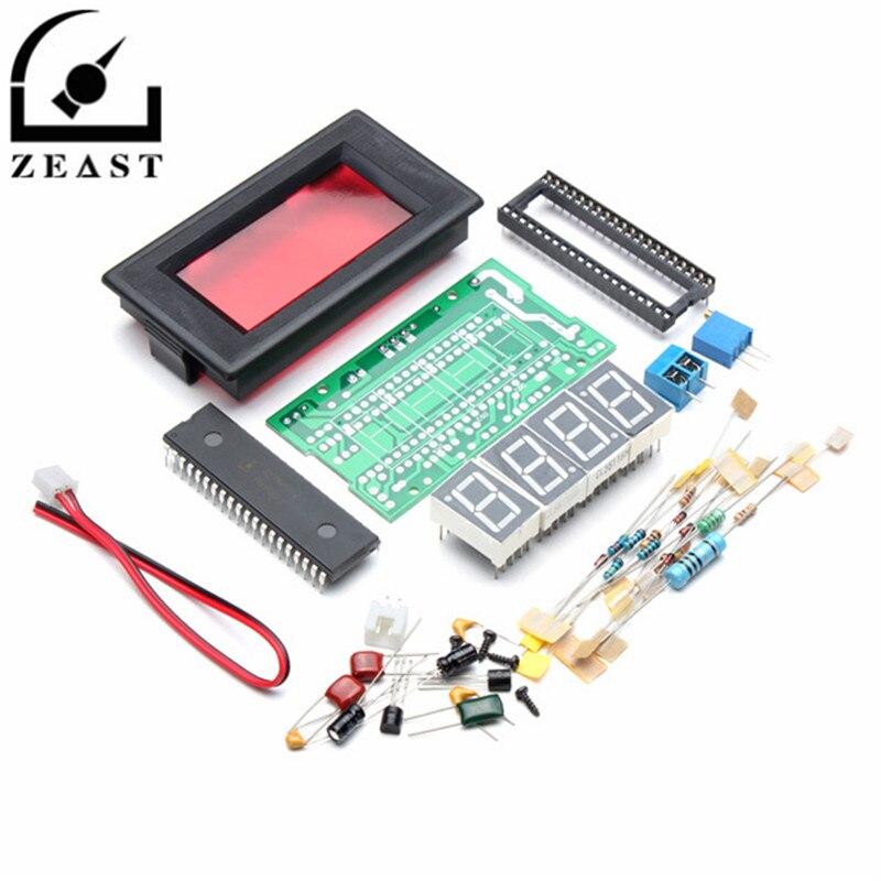 ICL7107 Digital Ammeter Red LED Display Module DIY Kit Unassembled Electronic Learning Kit DC5V 35mA
