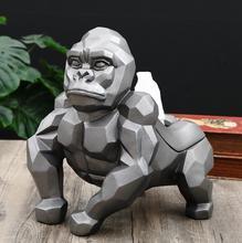 King kong geometric gorilla domineering tissue statue decoration artware sculpture statue decor home decoration accessories