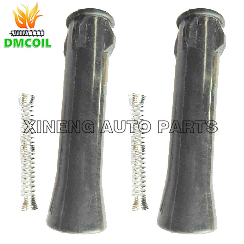 2 uds adaptador de botas de goma de bobina de encendido entre bobina y chispa para ROVER 360 MG 3 5 GT ZS ZOTYE T600 1.3L 1.5L 1,5 T NEC000120A