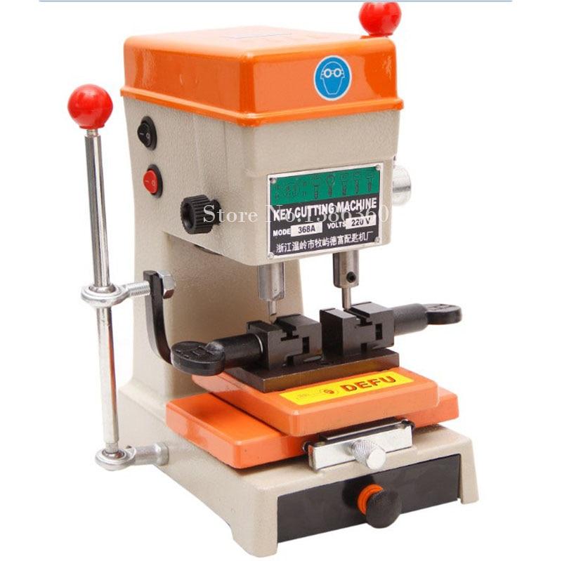 Newest Laser Defu Cutter Key Cutting Machine 368a With Full Set Cutters Tools Parts CP465