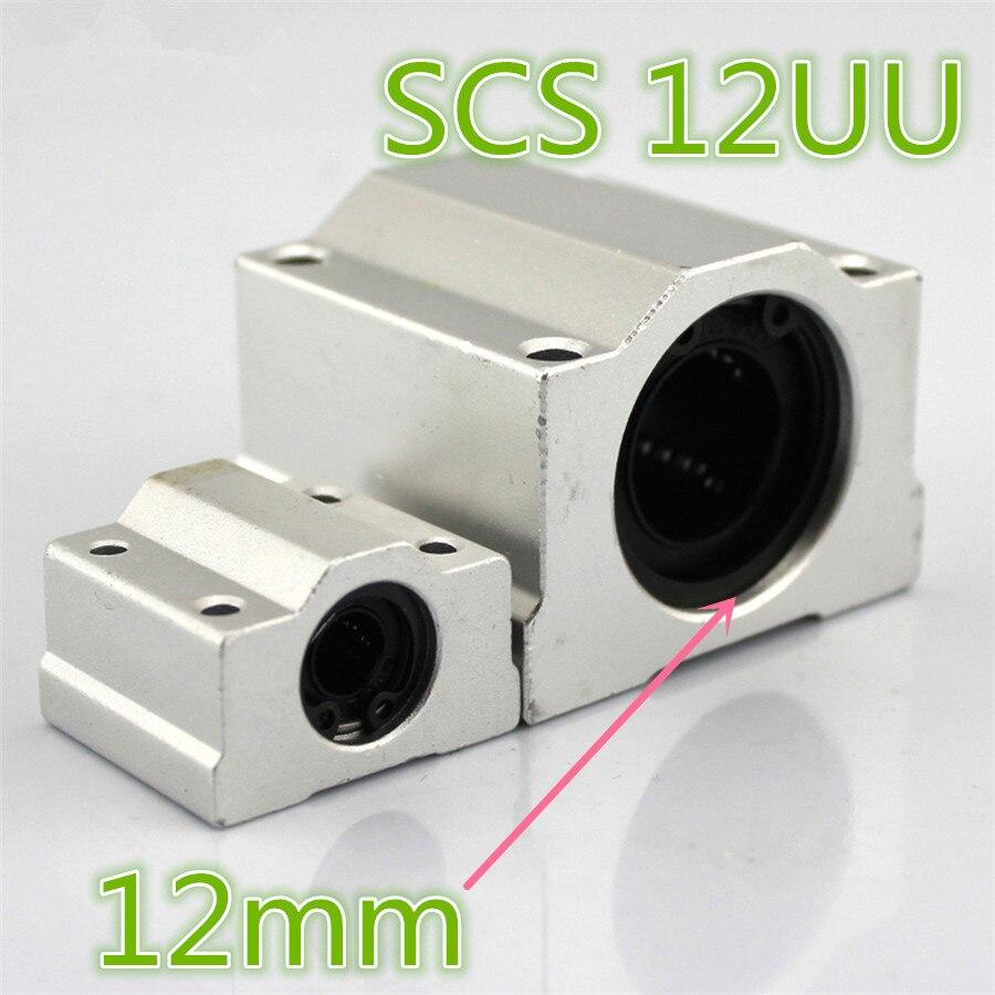 Caja tipo LWEC J505 SCS 12UU, mecanismo telescópico con Pedestal de rodamiento de aleación de aluminio, apertura de 12mm, envío gratis, EE. UU.