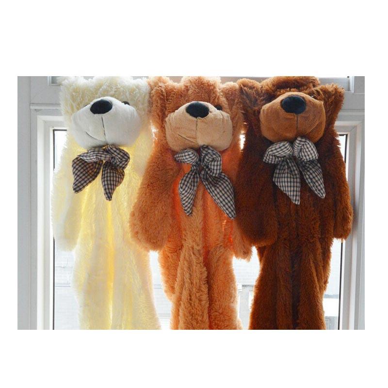 Cubierta de oso de peluche de piel de oso grande de 60 cm/80 cm piel para niños almohadas muñeca