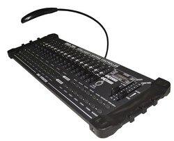 Venda quente padrão internacional dmx 384 controlador de cabeça em movimento feixe luz console dj 512 dmx controlador equipamentos