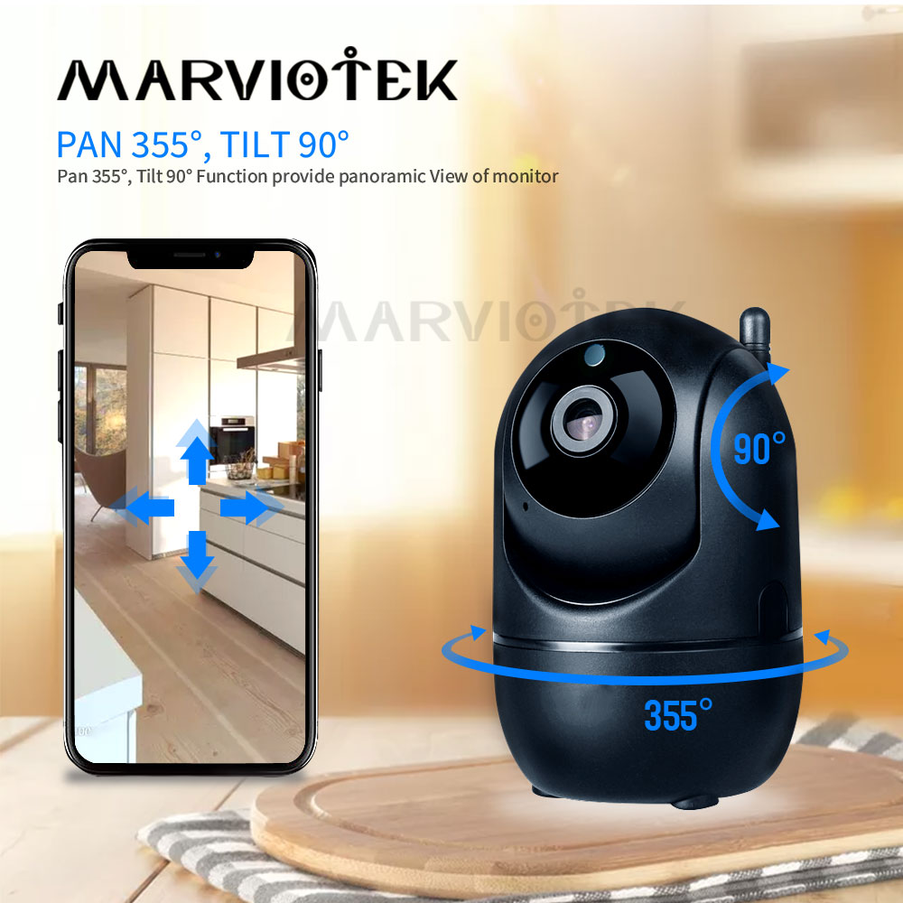 Moniteur bébé WiFi IP caméra wifi vidéo nounou caméra bébé caméra avec moniteur Vision nocturne sans fil bébé téléphone 1080P cri alarme IR