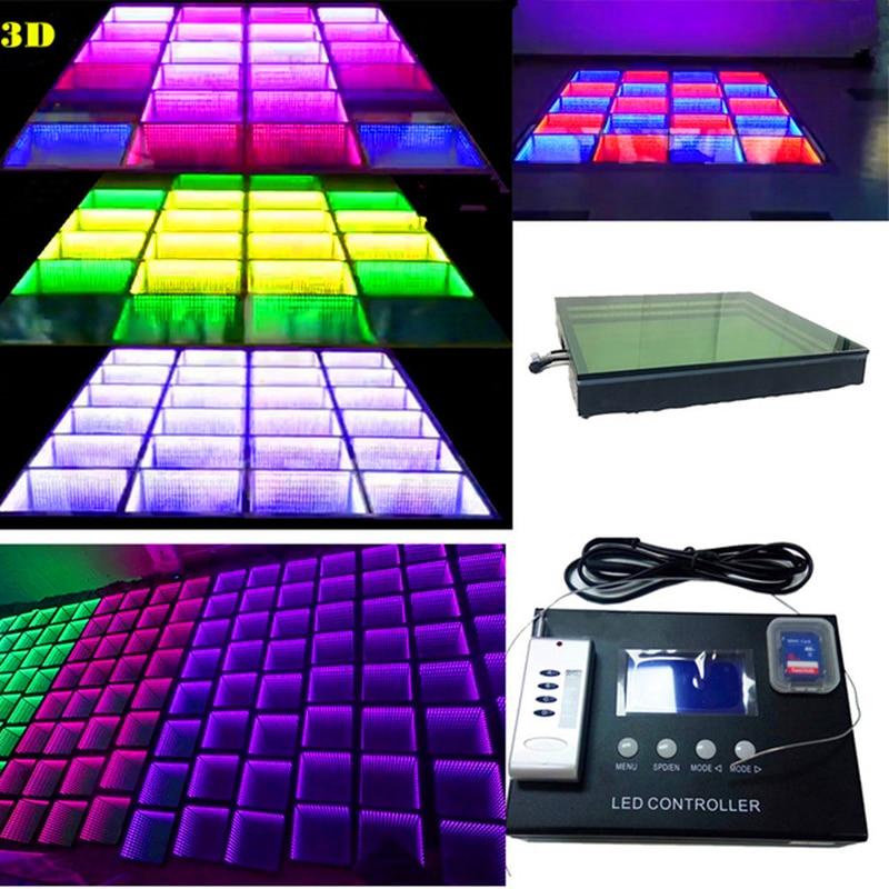 20W Led Dancing Brick Led Induction Floor Tile Led Video Flooring Tile Floor Screen Background Wall for Bar KVT Conference Party