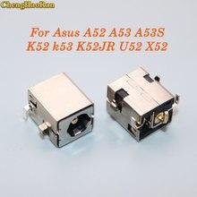 ChengHaoRan für Asus A52 A53 A53S K52 k53 K52JR U52 X52 X53 X54 PJ033 A43 X43 U30 DC power jack stecker 2,5mm Goldene