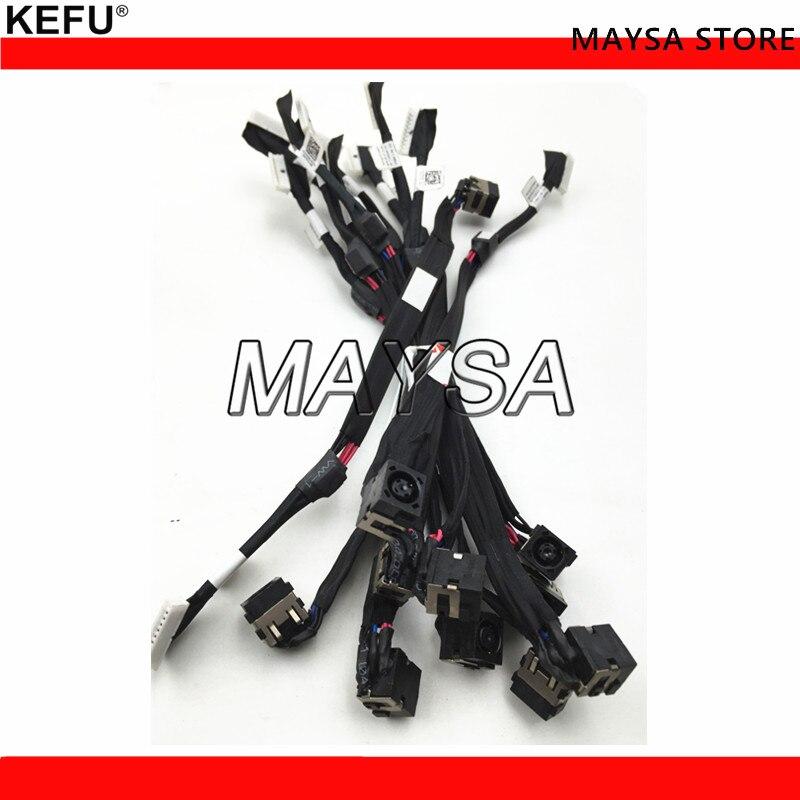 Cable de alimentación DC nuevo y Original para Dell Alienware 17 R2 R3 P43F T8DK8 P42F P43F 0T8DK8