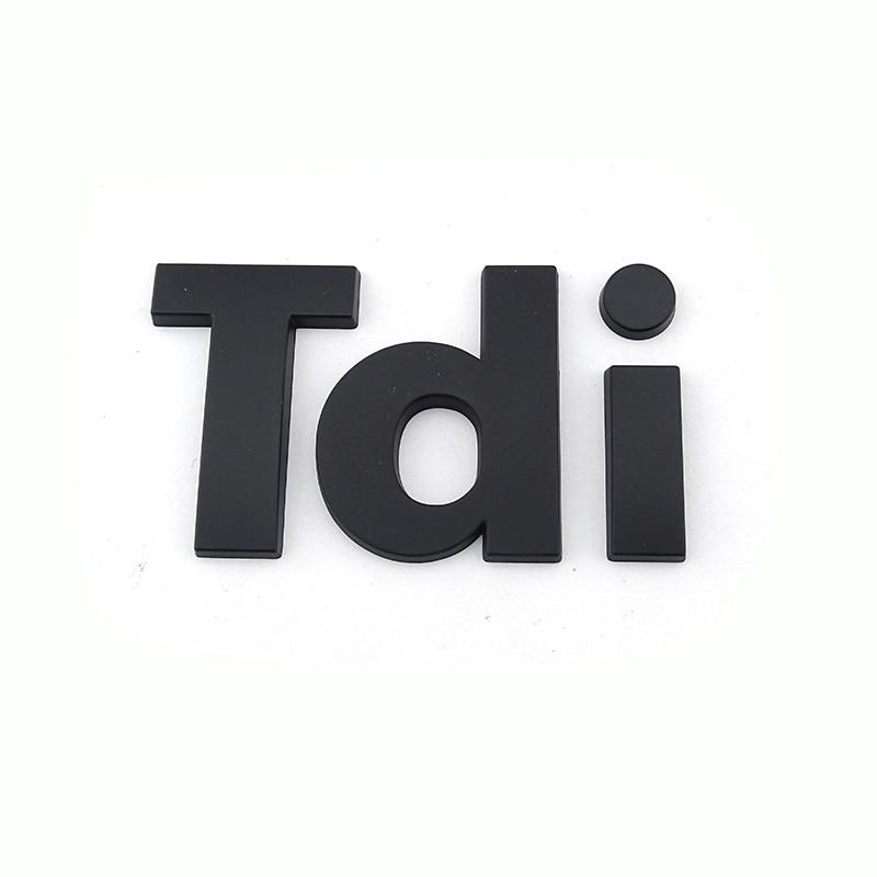 Emblema para automóvil personalizado de plástico TDI para señales de coche land rover Range rover