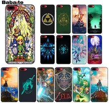 Babaite la légende de Zelda souple Silicone coque de téléphone pour iPhone X XS MAX 6 6S 7 7plus 8 8Plus 5 5S XR