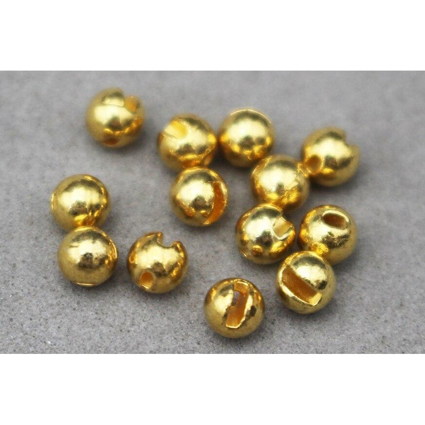 Купить с кэшбэком Tigofly 24 Pcs/Lot 4 Colors 3.3mm Nice-Designed Slotted Tungsten Beads Fly Tying Beads Materials