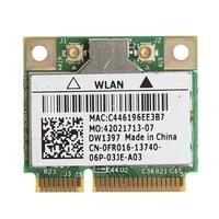 802 11G 54M Wireless Wifi Mini PCI-E Card For Dell DW1397 0KW770 Broadcom BCM94312HMG2L C26