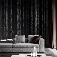 modern simple abstract bead curtain pvc wallpaper living room tv background wall ktv bar red wallpaper a generation of fat