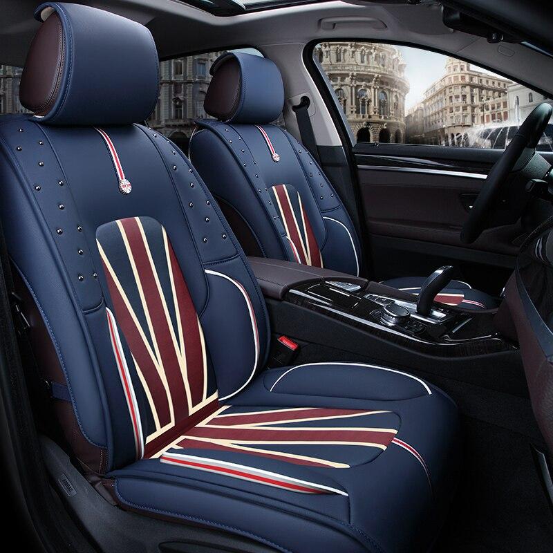 Funda protectora universal para asiento de coche, accesorios universales para Mercedes Benz Clase E E260 W210 T210 W211 T211 W212 W213
