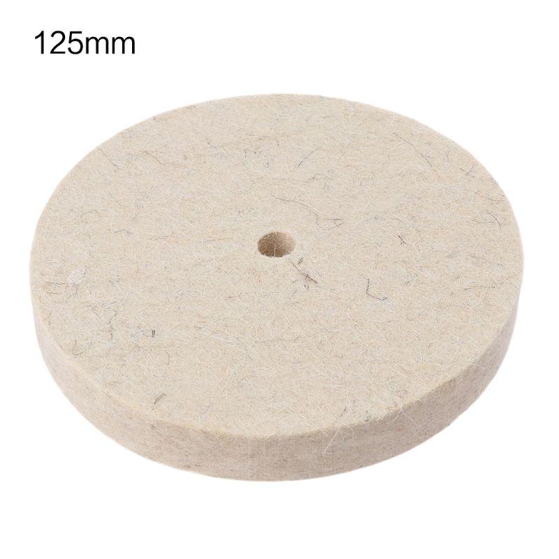 Disco abrasivo para trituradora de Banco herramienta rotativa de pulido de lana de fieltro