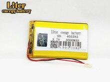 405585 lithium-Polymer-Batterie 3,7 V 3000mAh Li ionen akku Akkumulator Für handy Power Bank E-book