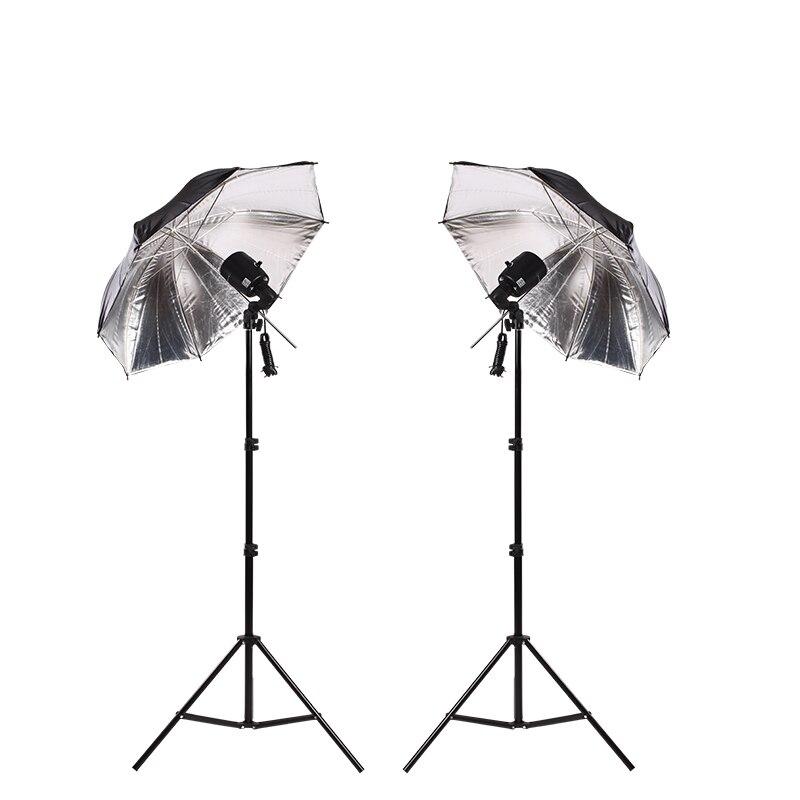 NiceFoto e-100w ensemble de lumière de photographie petit studio ensemble de flash équipement photographique