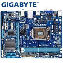 GIGABYTE GA-H61M-DS2 настольная материнская плата H61 Socket LGA 1155 i3 i5 i7 DDR3 16G uATX UEFI BIOS оригинальная H61M-DS2 б/у материнская плата