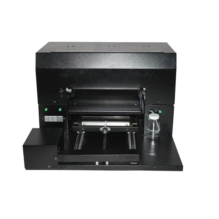 Apoio UV Branco e cor da tinta de impressão UV na mesmo tempo tamanho A3 Impressora UV caso de Telefone TPU transparente máquina