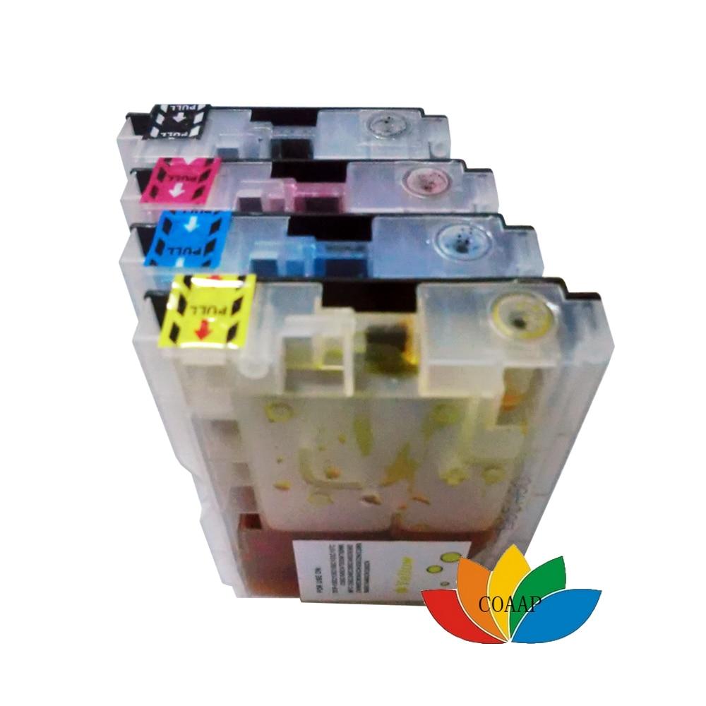 4pk tintenpatronen lc960 lc970 lc1000 kompatibel für brother dcp dcp-130c dcp-135c dcp-150c dcp-153c dcp-157c drucker tinten