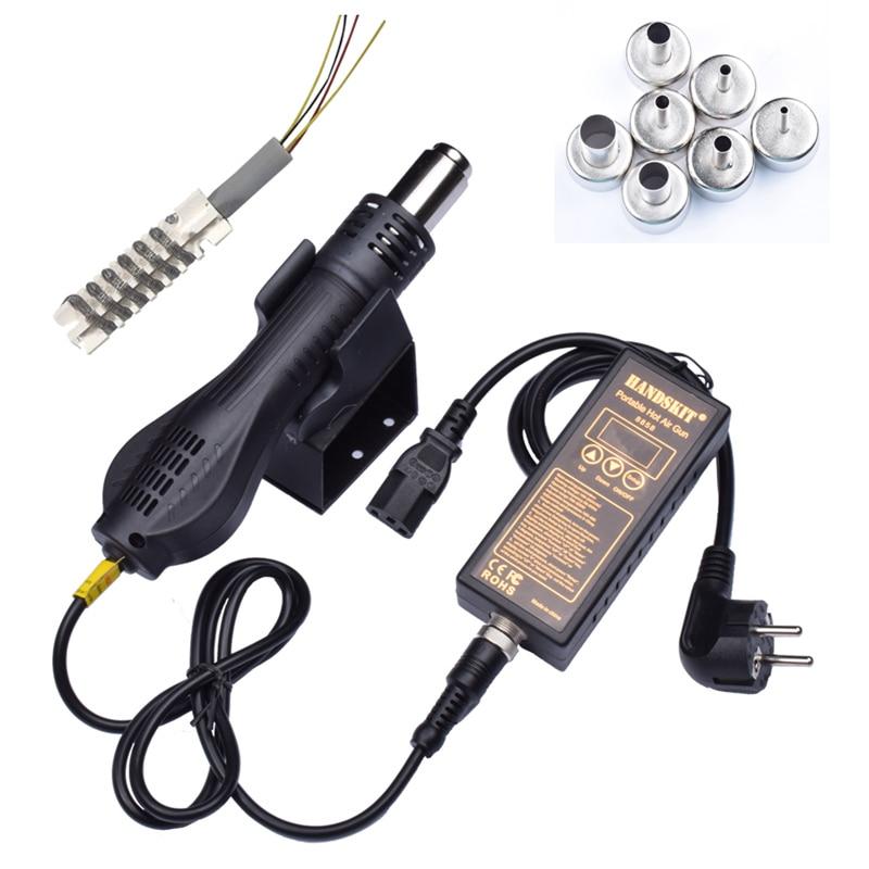 8858 110V 220V Portable Constant temperature BGA Rework Solder Station Hot Air Blower Heat Gun kit For Soldering Station