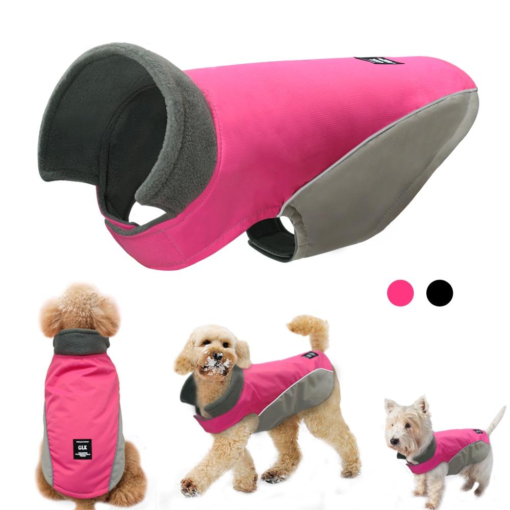 Ropa cálida para mascotas para perros, ropa de invierno para perros, chaqueta de mascota resistente al agua para perros pequeños, medianos, grandes, chaleco para cachorros, Atuendo para Chihuahua